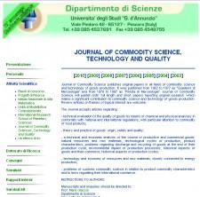 Journal Of Commodity Science, Technology And Quality – Department of Sciences