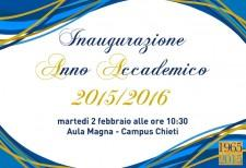 Opening of the Academic year 2015/2016